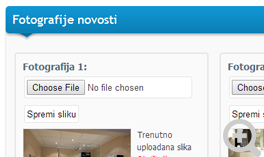 Upload fotografija